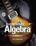 Elementary Algebra Graphs and Authentic Applications 2nd 2015 edition cover