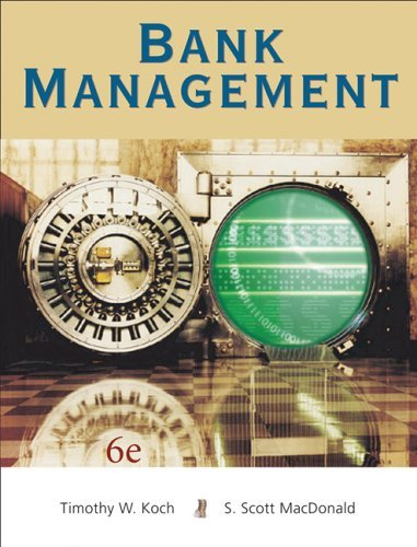 Bank Management  6th 2006 edition cover