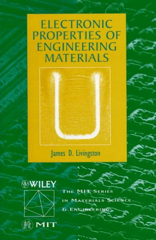 Electronic Properties of Engineering Materials   1999 edition cover
