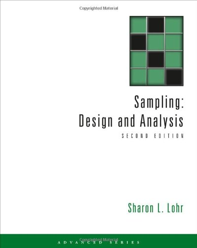 Sampling Design and Analysis 2nd 2010 edition cover