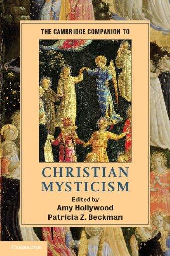 Cambridge Companion to Christian Mysticism   2012 edition cover