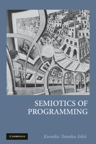Semiotics of Programming   2009 9780521736275 Front Cover