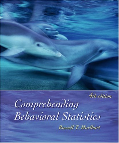 Comprehending Behavioral Statistics  4th 2006 edition cover