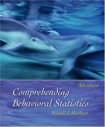 Comprehending Behavioral Statistics  4th 2006 9780534606275 Front Cover