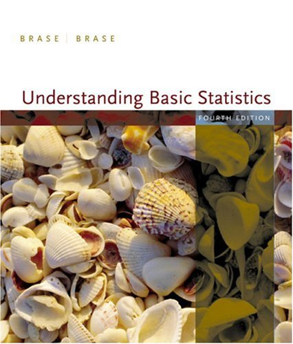 Understanding Basic Statistics  4th 2007 (Brief Edition) edition cover