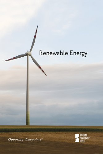 Renewable Energy   2009 9780737742275 Front Cover