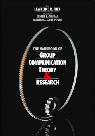 Handbook of Group Communication Theory and Research   1999 edition cover