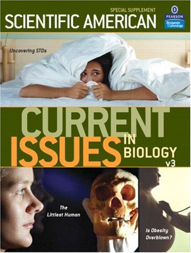 Current Issues in Biology   2007 (Supplement) edition cover