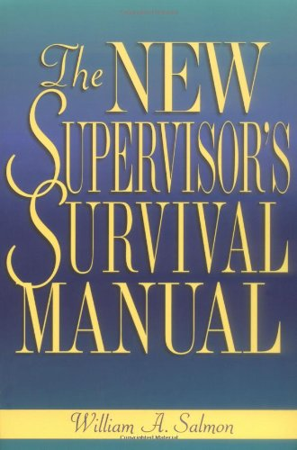 New Supervisor's Survival Manual   1999 edition cover