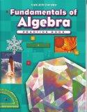 Progress in Mathematics: Fundamentals of Algebra  2009 edition cover
