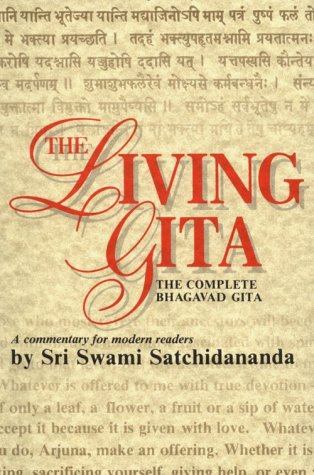 Living Gita The Complete Bhagavad Gita - A Commentary for Modern Readers  1997 (Reprint) edition cover