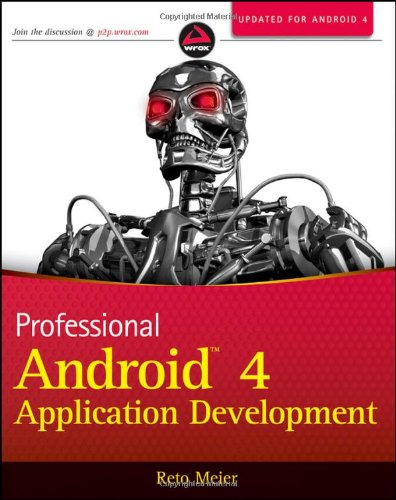 Professional Android 4 Application Development  3rd 2012 edition cover