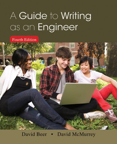 Guide to Writing as an Engineer  4th 2014 edition cover