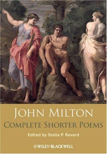 John Milton Complete Shorter Poems   2009 9781405129275 Front Cover