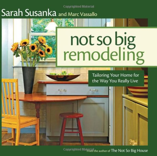 Not So Big Remodeling Tailoring Your Home for the Way You Really Live  2009 edition cover