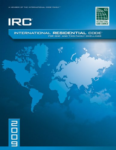 International Residential Code for One-and-Two Family Dwellings 2009   2009 edition cover