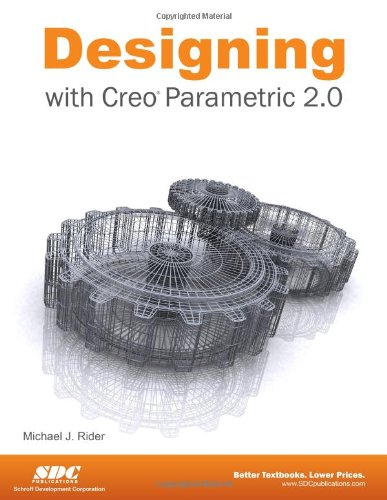 Designing with Creo Parametric 2. 0  N/A edition cover