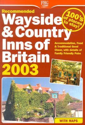 Recommended Wayside & Country Inns of Britain 2003:  2003 edition cover