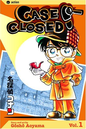 Case Closed, Vol. 1   2004 edition cover