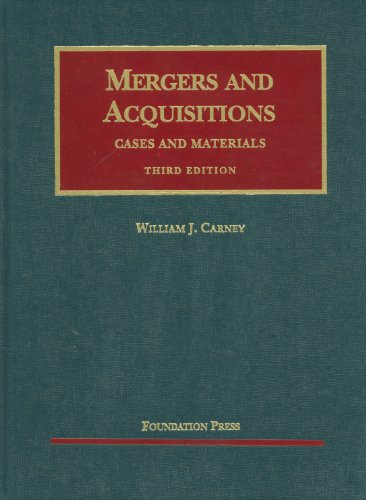 Mergers and Acquisitions  3rd 2011 (Revised) edition cover