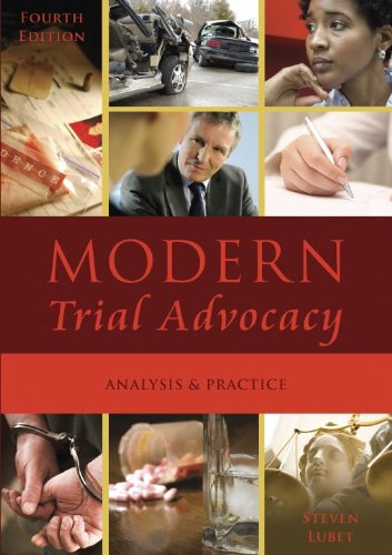Modern Trial Advocacy : Analysis and Practice 4th 2009 edition cover