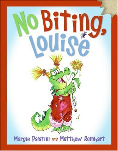 No Biting, Louise  2007 9780060526276 Front Cover