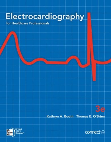 Electrocardiograhpy For Health Care Professionals 3rd 2012 edition cover