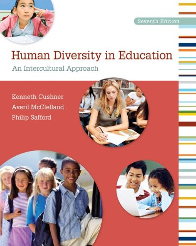 Human Diversity in Education An Intercultural Approach 7th 2012 edition cover