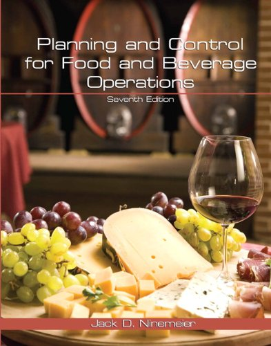 Planning and Control for Food and Beverage Operations:   2012 edition cover