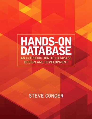 Hands-On Database An Introduction to Database Design and Development  2012 (Revised) edition cover