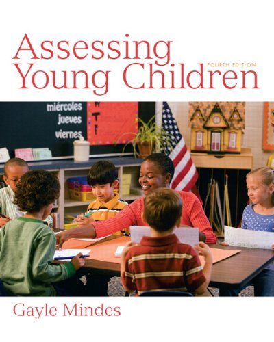 Assessing Young Children  4th 2011 edition cover