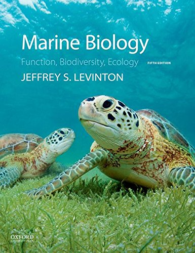 Marine Biology: Function, Biodiversity, Ecology  2017 9780190625276 Front Cover