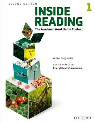 Inside Reading, Level 1 The Academic Word List in Context 2nd 2012 (Student Manual, Study Guide, etc.) edition cover