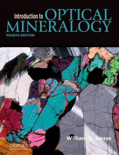 Introduction to Optical Mineralogy  4th edition cover