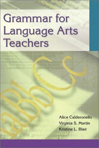 Grammar for Language Arts Teachers   2003 edition cover