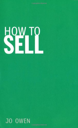 How to Sell Sell Anything to Anyone  2010 9780273731276 Front Cover