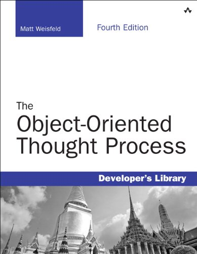Object-Oriented Thought Process  4th 2013 edition cover