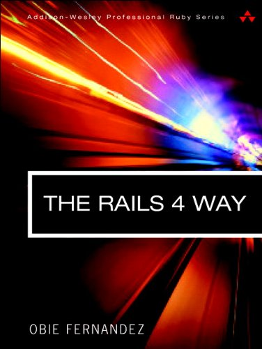 Rails 4 Way  3rd 2014 edition cover
