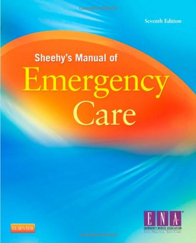 Sheehy's Manual of Emergency Care  7th 2013 edition cover