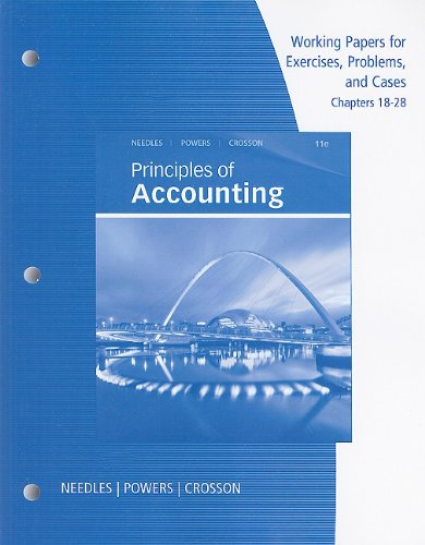 Principles of Financial Accounting  11th 2011 9780538755276 Front Cover
