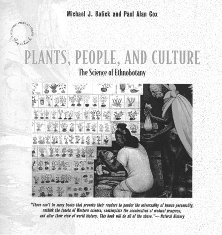 Plants, People and Culture The Science of Ethnobotany  1997 edition cover
