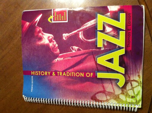 History and Tradition of Jazz  4th (Revised) edition cover
