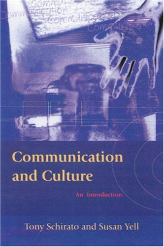 Communication and Culture An Introduction 2nd 2000 9780761968276 Front Cover