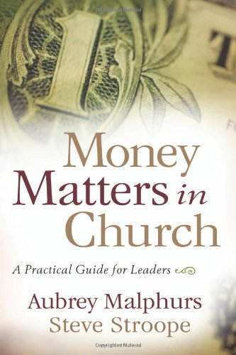 Money Matters in Church A Practical Guide for Leaders  2007 edition cover