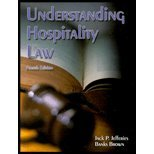 Understanding Hospitality Law 4th 2001 9780866122276 Front Cover
