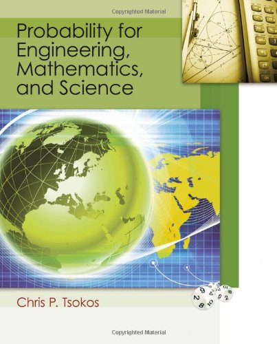 Probability for Engineering, Mathematics, and Science   2012 edition cover
