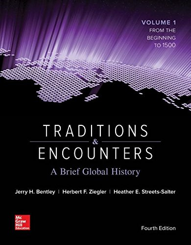 Traditions and Encounters A Brief Global History 4th 2016 edition cover
