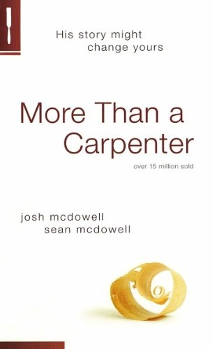 More Than a Carpenter   2009 (Revised) 9781414326276 Front Cover