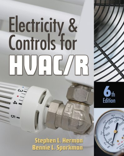Electricity and Controls for HVAC-R  6th 2010 edition cover
