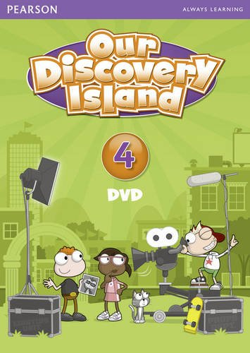 Our Discovery Island American Edition DVD 4  2011 edition cover